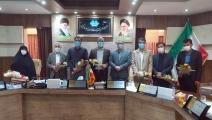 به مناسبت 9 اردیبهشت روز ملی شوراها ؛آیین تجلیل از اعضای شورای اسلامی شهرمبارکه برگزار شد