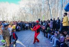 گزارش تصویری/ اجرای جشنواره فرهنگی هنری نوبهار در روز طبیعت / پارک سرارود/نوروز 1398