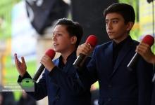 گزارش تصویری | وِیژه برنامه ندای محرم و برافراشتن پرچم عزای امام حسین(ع) در گذر فرهنگی میدان انقلاب برگزار شد