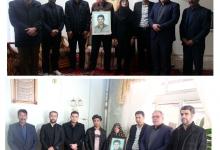 گزارش تصویری/ دیدار شهردار، رئیس و اعضای شورای اسلامی شهر مبارکه با خانواده های معظم شهید فضل اله خالوزاده و شهید عبدی