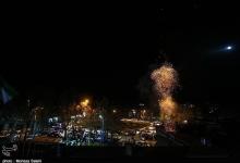مراسم نورافشانی آسمان شهر مبارکه به مناسبت میلاد خجسته حضرت صاحب الزمان(عج)