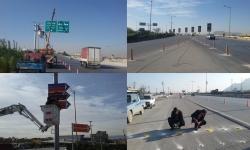 تلاش برای ایمنسازی ورودی شهر مبارکه ادامه دارد