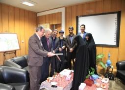 دیدار شورای اسلامی شهر مبارکه با شهردار به مناسبت روز شهردار