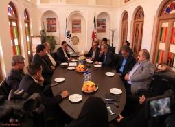 جلسه شورای راهبردی قطار بین شهری مبارکه –بهارستان برگزار شد