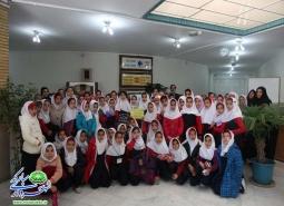 بازدید دانش آموزان مدرسه استاد شهریار از کتابخانه مجتمع فرهنگی غدیر به مناسبت…