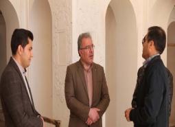 بازدید شهردار مبارکه از مراحل آماده سازی ارگ تاریخی نهچیر جهت اجرای جشنواره…