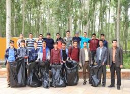 کمپین نه به زباله به مناسبت روز زمین پاک