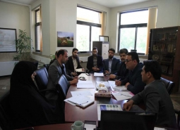 جلسه کمیسیون سرمایه گذاری با حضور اعضای محترم شورای اسلامی شهر