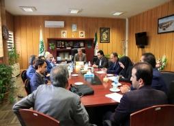 جلسه هماهنگی حل مشکلات محله اسماعیل ترخان در حوزه احیای بافت فرسوده