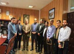 گزارش تصویری / دیدار صمیمی شهردار و رئیس محترم شورای اسلامی شهر مبارکه با پرسنل…
