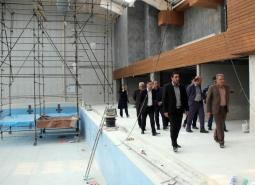 گزارش تصویری / بازدید شهردار و اعضای شورای اسلامی شهر مبارکه از پروژه مشارکتی…