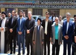 برگزاری مراسم گرامیداشت حماسه سوم خرداد و  غبار روبی گلستان شهدای مبارکه به…