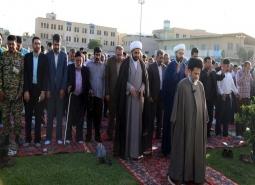 گزارش تصویری /نماز با شکوه عید فطر سعید فطر با حضور مردم و مسئولین در شهر…