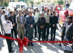 نمایشگاه تخصصی توانمندی ها ،تجهیزات و وسایل آتش نشانی افتتاح شد