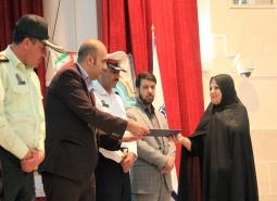 گزارش تصویری/نخستین همایش تجلیل از شهروندان قانون مند شهرستان مبارکه برگزار شد