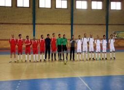 گزارش تصویری/مراسم افتتاحیه جام فجر فاطمی /اولین دوره مسابقات فوتسال کارکنان…