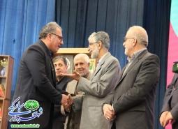 تقدیر از شهردار مبارکه توسط دکتر حدادعادل  مشاور عالی مقام معظم رهبری و رئیس…