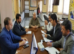 گزارش تصویری /برگزاری جلسه هیئت مدیره سازمان مدیریت حمل و نقل شهرداری مبارکه