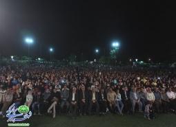 گزارش تصویری / جشن بزرگ خورشید هشتم با حضور چشم گیر شهروندان برگزار شد