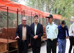 گزارش تصویری/بازدید مدیرکل دفتر امور شهری و شوراها استانداری اصفهان از پروژه…