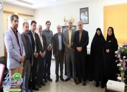 گزارش تصویری / دیدار مدیریت شهری مبارکه با رئیس اداره تامین اجتماعی شهرستان به…