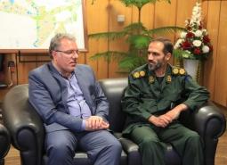 دیدار فرمانده سپاه ناحیه شهرستان با شهردار مبارکه به مناسبت 14 تیرماه روز…