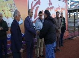 گزارش تصویری / حضور رئیس و نائب رئیس شورای اسلامی شهر مبارکه در مراسم اختتامیه…
