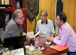 گزارش تصویری/ دیدار مردمی شهردار مبارکه با شهروندان- شهریور ماه1398