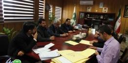 جلسه کمیسیون عالی بازگشایی پاکات مناقصه فضای سبز و مزایده اجاره تابلوهای تبلیغاتی و اجاره غرفه های میدان دفاع مقدس