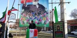 آیین گلباران تمثال مبارک حضرت امام خمینی (ره) با حضور مسئولین و مردم شهید پرور شهر مبارکه