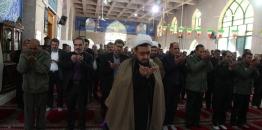 اقامه نماز وحدت همزمان با ایام مبارک دهه فجر در امام زاده عزالدین محمد(ع) شهر مبارکه