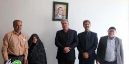 دیدار شهردار با خانواده معظم شهید قدرت الله خاکسار
