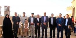 بازدید شهردار و اعضای شورای اسلامی شهر مبارکه از دومين جشنواره فرهنگى هنرى نوروزگاه ارگ تاريخى نهچير