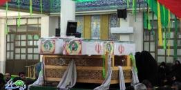 گزارش تصویری / تشییع دو شهید حادثه تروریستی زاهدان در شهر مبارکه
