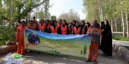 گزارش تصویری /کمپین نه به زباله به مناسبت روز زمین پاک / پارک ساحلی سرارود/1398