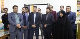 گزارش تصویری / بازدید مدیرعامل موسسه «بهمن سبز» حوزه هنری کشور از ظرفیت های فرهنگی شهر مبارکه