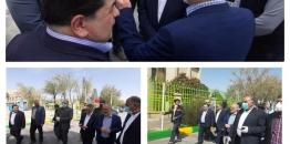 گزارش تصویری /بازدید معاون عمرانی استانداری اصفهان از اقدامات ستاد مدیریت مبارزه با کرونا شهرستان مبارکه