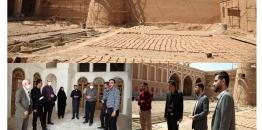 گزارش تصویری /بازدید شهردار،رئیس ،اعضای شورای اسلامی شهر و جمعی از مدیران شهرداری مبارکه از پروژه مرمت و بازسازی ارگ تاریخی نهچیر