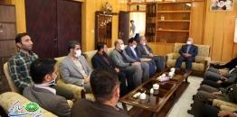 دیدار شهردار ،رئیس و اعضای شورای شهر مبارکه باسرپرست جدید فرمانداری شهرستان مبارکه