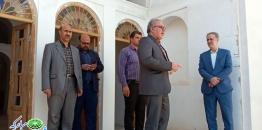 بازدید مديرکل امور مالياتي استان اصفهان از پروژه بازسازی ارگ تاریخی نهچیر مبارکه