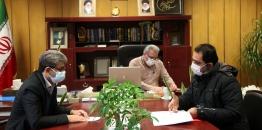ملاقات مردمی شهردار مبارکه با شهروندان- 17 آذر ماه