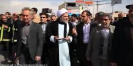 مراسم راهپیمایی 22 بهمن 1395 در شهر مبارکه