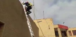 کلیپ /تمرینات آمادگی پرسنل سازمان آتش نشانی مبارکه