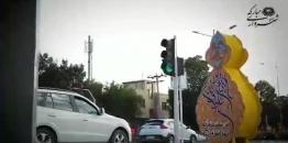 ببینید/حال و هوای غدیری شهر مبارکه / روایت سوم