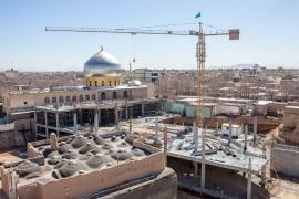 پروژه حسینیه مرکزی شهر مبارکه