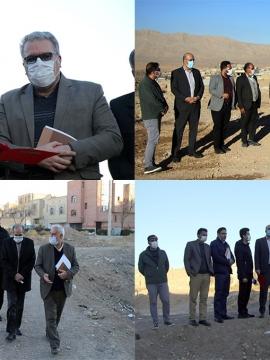 بازدید از پروژههای عمرانی شهرداری مبارکه /همت و تلاش مدیریت شهری در راستای رشد و توسعه شهر (2)