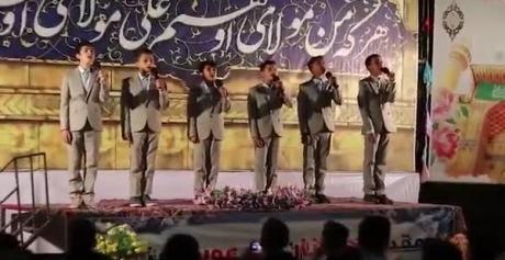 ببینید/جشنواره فرهنگی پیک غدیر / در محلات و شهر مبارکه