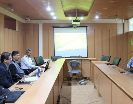 گزارش تصویری /جلسه شورای ترافیک با موضوع بررسی زیرگذر محله قهنویه