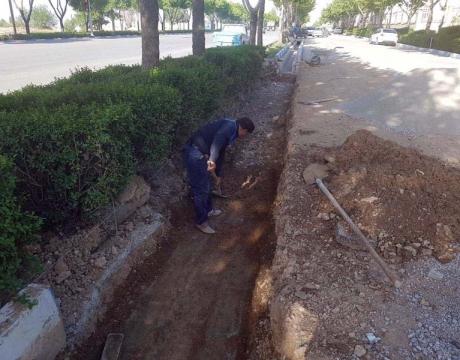 گزارش تصویری /اصلاح و تعمیرات اساسی کانال دفع آبهای سطحی بلوار صفائیه