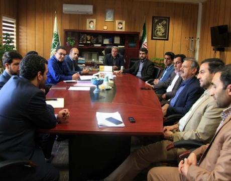 گزارش تصویری /جلسه هیئت عالی سرمایه گذاری با حضور  کارشناس امور عمرانی استانداری اصفهان